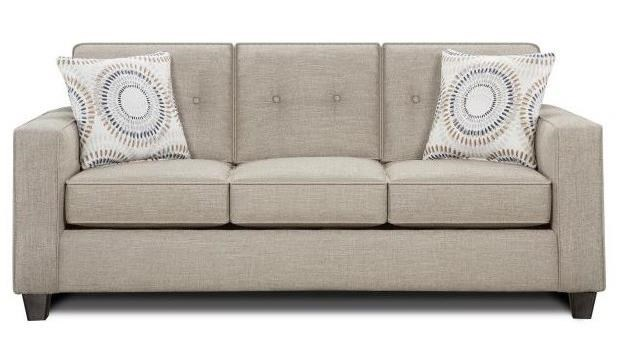 Fusion Furniture Radiant Sofa - Item Number: 3560-BLilou Heather