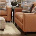 Fusion Furniture 3560B Loveseat - Item Number: 3561BFandango Flame