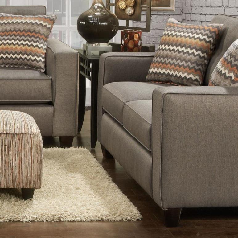 Haley Jordan Verano Loveseat - Item Number: 3561BFandango Mocha