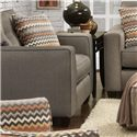 Fusion Furniture 3560B Chair - Item Number: 3562BFandango Mocha