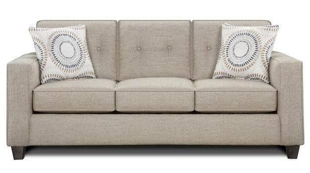 Fusion Furniture 3560B Sleeper Sofa - Item Number: 3564-BLilou Heather