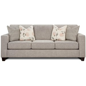 Fusion Furniture 3600 Sofa with Track Arms
