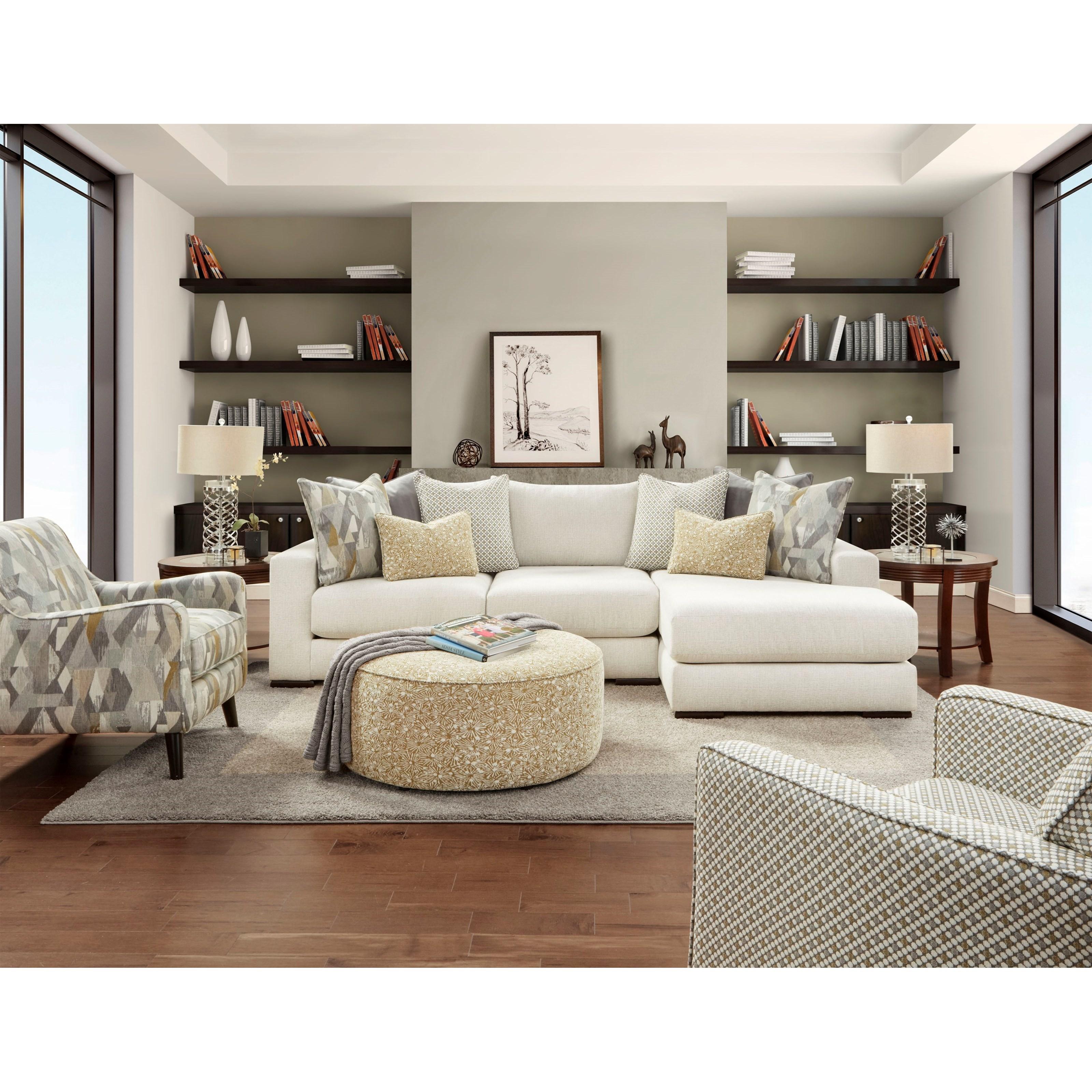 Fusion Furniture 402 G 402 Gbarrage Spring Contemporary