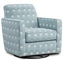 Fusion Furniture 402-G Swivel Glider - Item Number: 402-GChantilly Mist