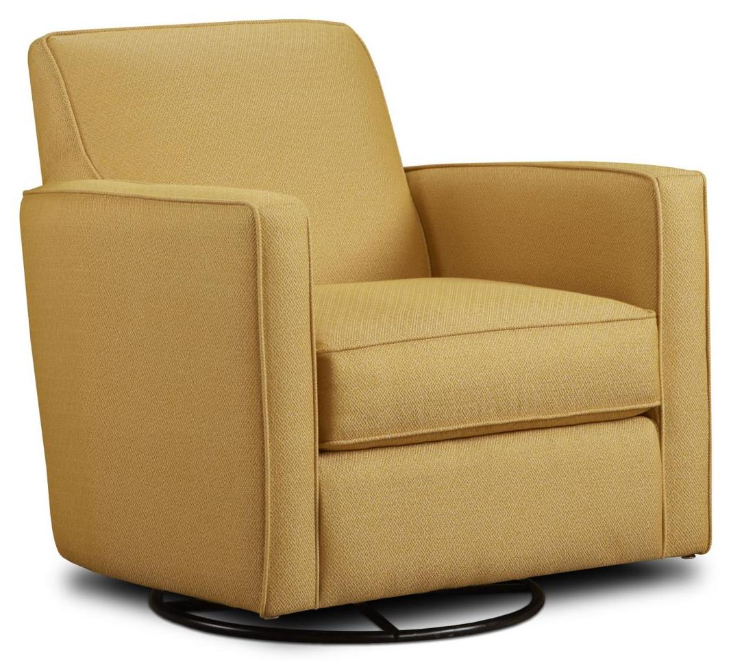 Haley Jordan 402-G Swivel Glider - Item Number: 402-GGold Mine Citrine