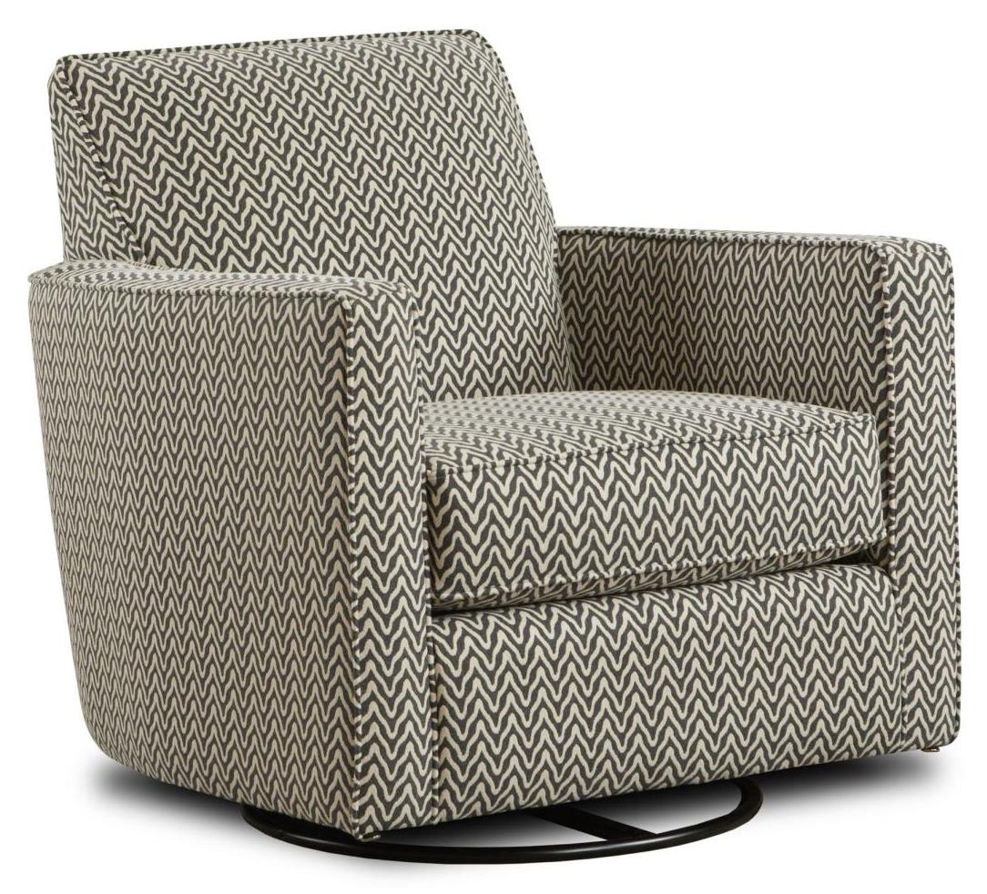 Fusion Furniture Gliders Swivel Glider - Item Number: 402-GHopkins Pewter