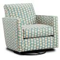 Fusion Furniture 402-G Swivel Glider - Item Number: 402-GKola Stencil Jasper