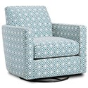 Fusion Furniture 402-G Swivel Glider - Item Number: 402-GRupert Teal