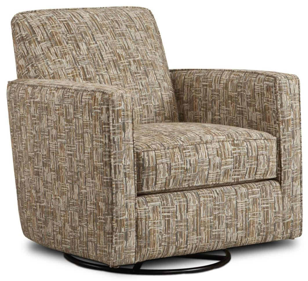 Fusion Furniture Gliders Swivel Glider - Item Number: 402-GThor Flax
