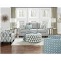 Fusion Furniture 41CW-00KP Living Room - Item Number: 41-CW Living Room Group