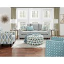 Fusion Furniture 41CW Living Room Group - Item Number: 41CW Living Room Group 1