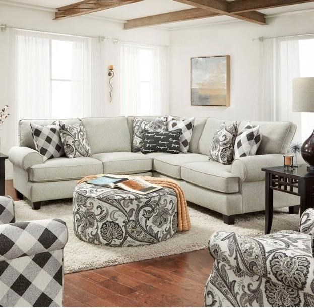 4200 Sectional by FN at Lindy's Furniture Company