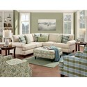 Fusion Furniture 4200 Stationary Living Room Group - Item Number: 4200 Living Room Group 5
