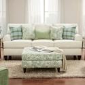 Fusion Furniture 4200 Sofa - Item Number: 4200-KPBaja Natural