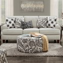 Fusion Furniture 4200 Sofa - Item Number: 4200-KPShadowfax Dove