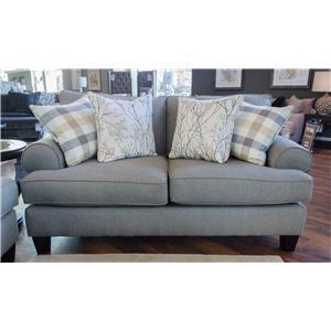 Fusion Furniture 4200 Boho Birch Loveseat