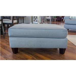 Fusion Furniture 4200 Boho Birch Ottoman