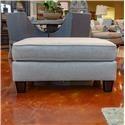 Fusion Furniture Boho Birch Thrillist Fog Ottoman - Item Number: 4203THRILLIST-FOG