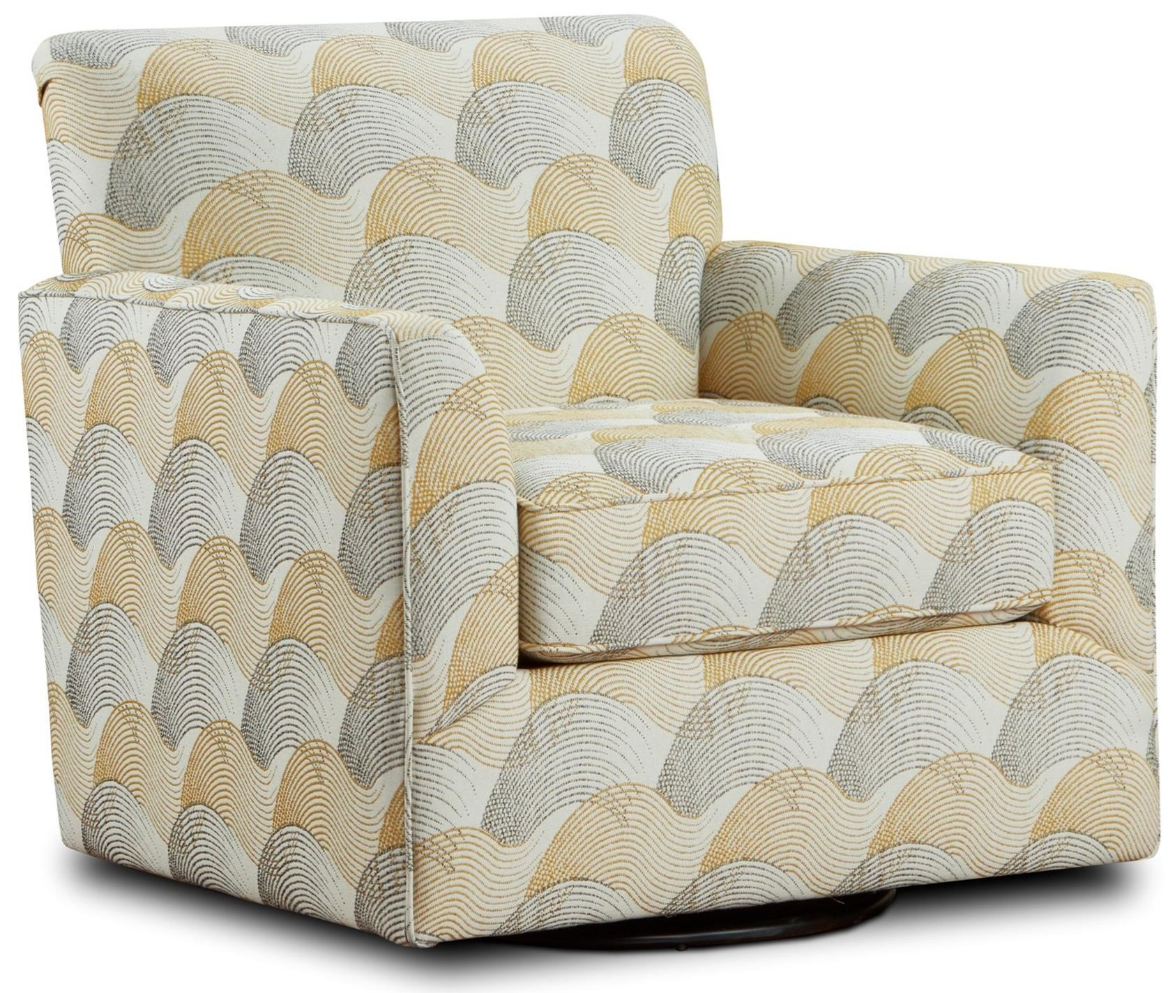 Fusion Furniture Ochre Swivel Chair Crowley Furniture Mattress