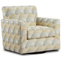 Fusion Furniture Accent Swivel Chair - Item Number: 422-SLonyae Ochre