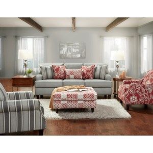 Fusion Furniture 4250 Stationary Living Room Group
