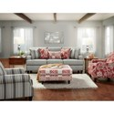 Fusion Furniture 4250 Stationary Living Room Group - Item Number: 4250 Living Room Group 1