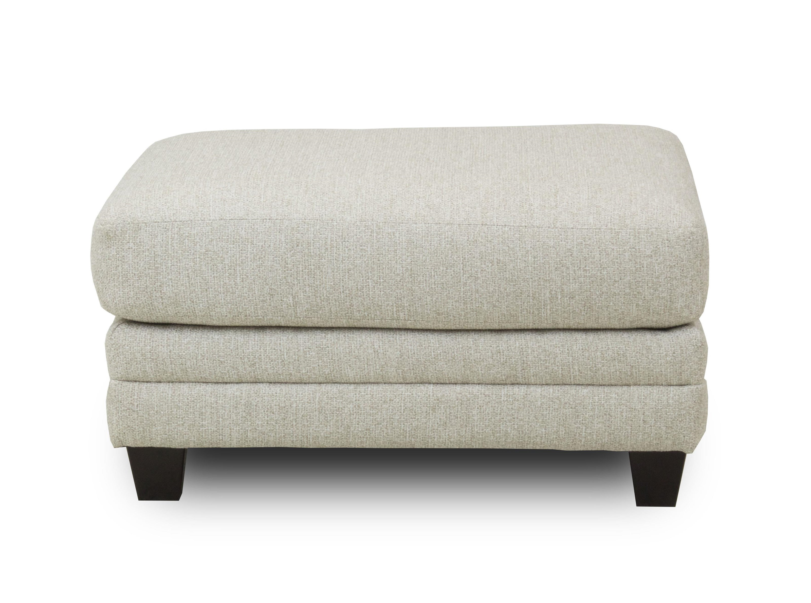 Fusion Furniture Brock Berber Ottoman - Item Number: 1744-O