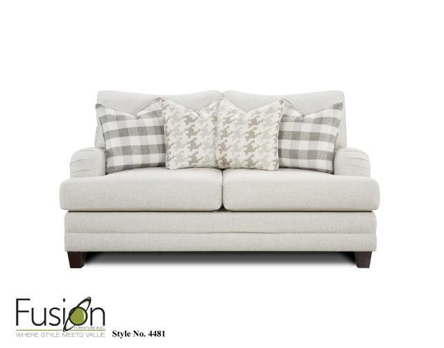 Fusion Furniture 4480 4481 Loveseat` - Item Number: 4481loveseat