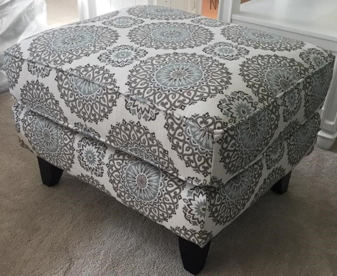 Fusion Furniture 452 BRIA TWIL Accent Ottoman - Item Number: 117-13051-7