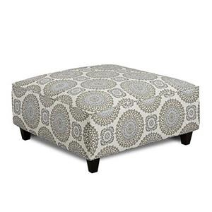 Fusion Furniture 452 BRIA TWIL Accent Ottoman
