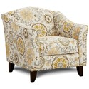 Fusion Furniture 452 Chair - Item Number: 452Alpenrose Daisy