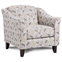 Fusion Furniture 452 Chair - Item Number: 452Dayflower Haze