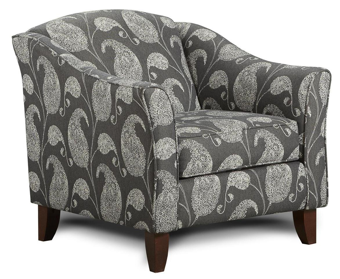 Fusion Furniture 452 Chair - Item Number: 452Gallo Ink