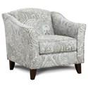 Fusion Furniture 452 Chair - Item Number: 452Kitteridge Cobalt