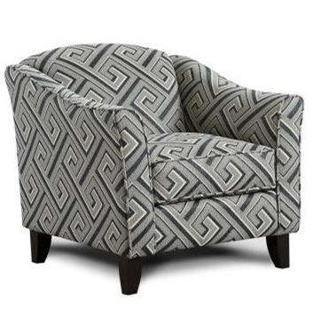 Fusion Furniture 452 Chair - Item Number: 452MAZE RUNNER STONE