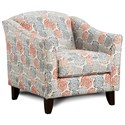Fusion Furniture 452 Chair - Item Number: 452Palm Beach Lapis