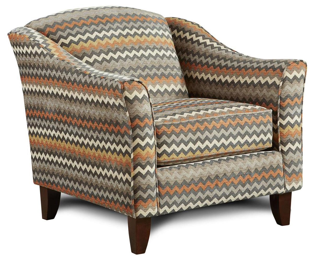 Fusion Furniture 452 Chair - Item Number: 452Reaction Haze