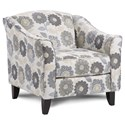 Fusion Furniture 452 Chair - Item Number: 452Shasta Chambray