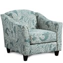 Fusion Furniture 452 Chair - Item Number: 452Trixi Ocean