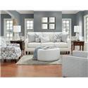 Fusion Furniture 46-00-KP Truth or Dare Salt Living Room - Item Number: 46-00-KP Living Room