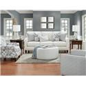 Fusion Furniture 46-00-KP Truth or Dare Salt Loveseat - Item Number: 46-01Truth or Dale Salt