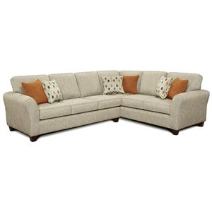 Fusion Furniture 4800  Sectional