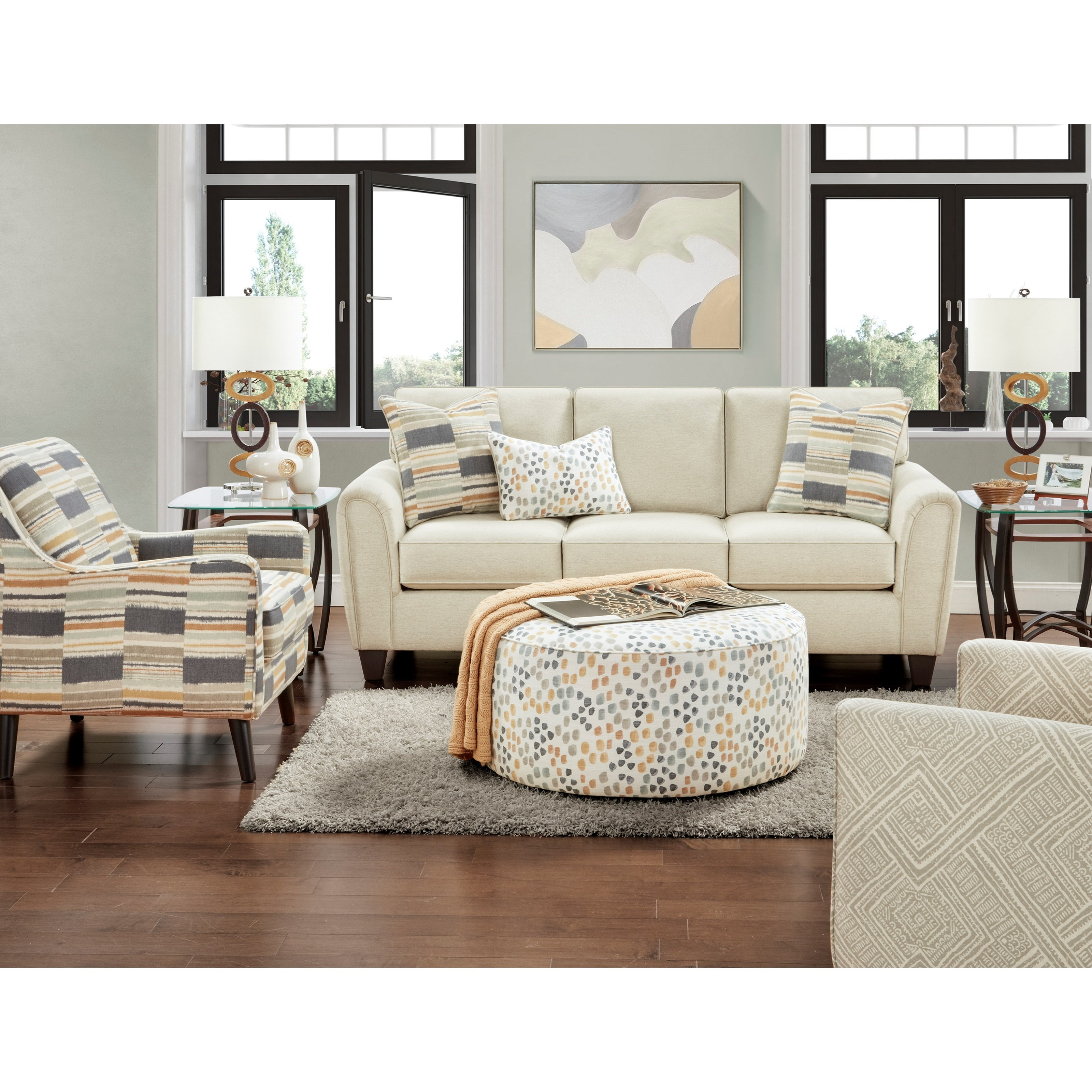 49-00 Living Room Group by VFM Signature at Virginia Furniture Market