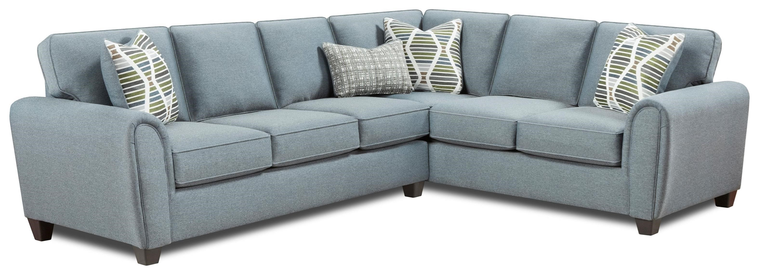 49-00 2-Piece L-Shape Sectional by Fusion Furniture at Furniture Superstore - Rochester, MN