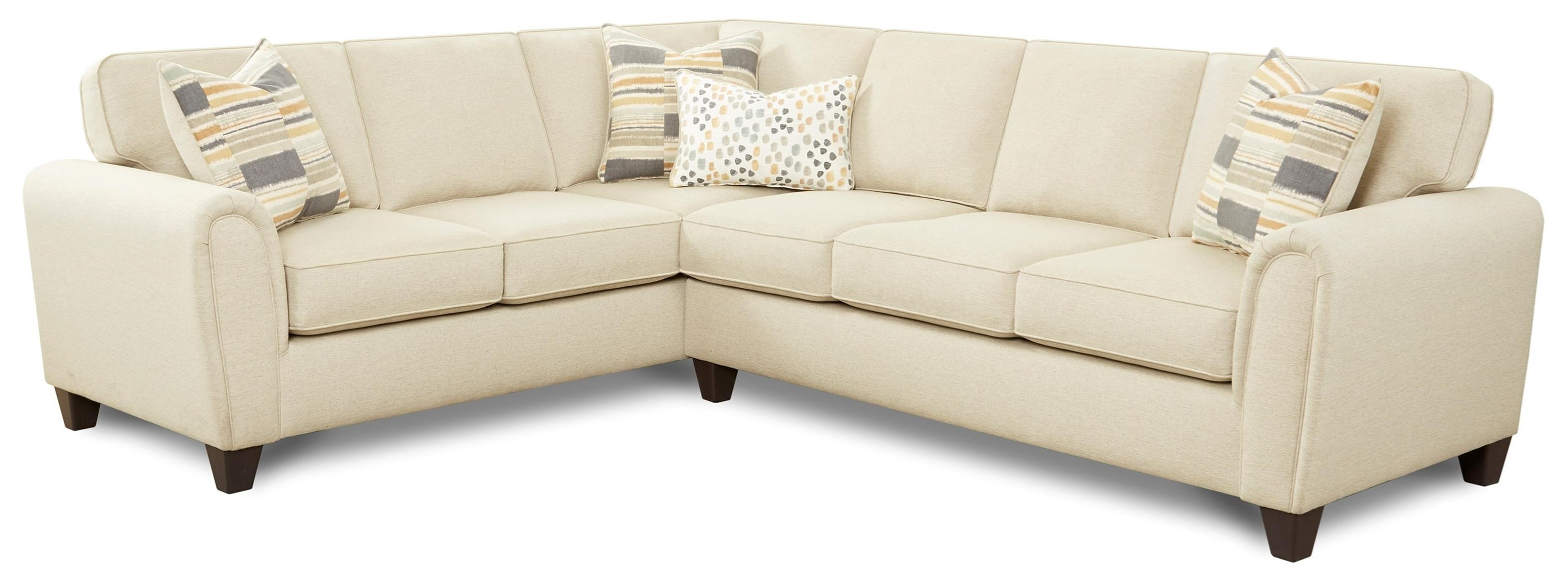 49-00 2-Piece L-Shape Sectional by Fusion Furniture at Prime Brothers Furniture