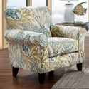 Fusion Furniture 502 Accent Chair - Item Number: 502Coral Reef Carribean