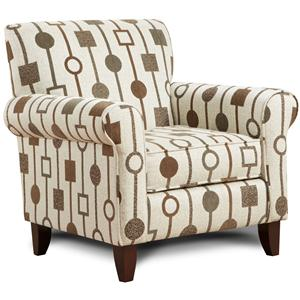 Fusion Furniture 502 - Crossbow Sante Fe Accent Chair