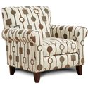 Fusion Furniture 502 - Crossbow Sante Fe Accent Chair - Item Number: 502CSF