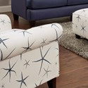 Fusion Furniture 502 Accent Chair - Item Number: 502Sea Star Admiral