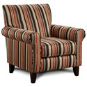 Fusion Furniture 502 Accent Chair - Item Number: 502Serenity Copper